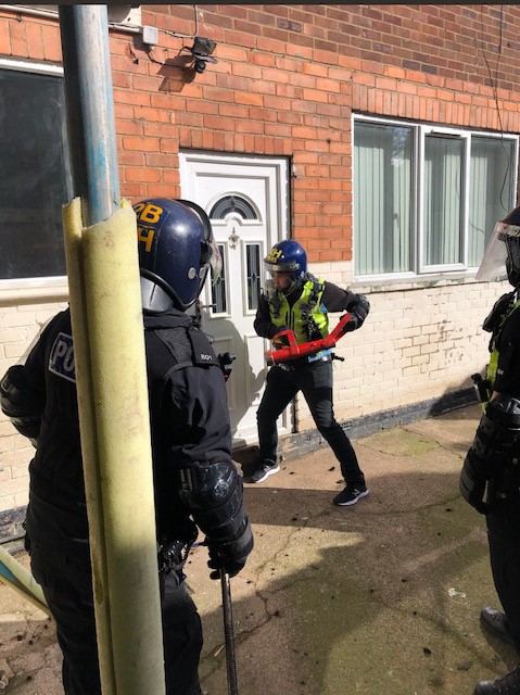 Officers conduct Warrant in Bridlington