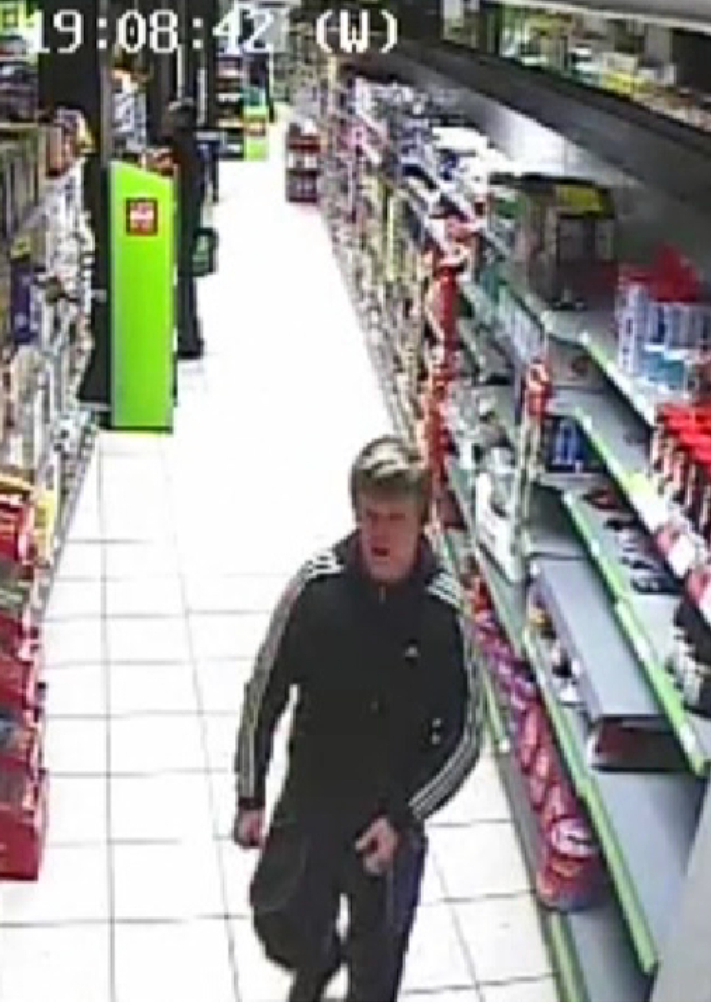 Can you identify this man? Ring 101 crime reference number 2136193