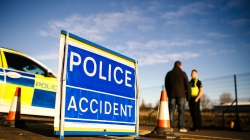 Car damaged in fail to stop road traffic collision