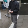 Wanted in connection with bank card theft